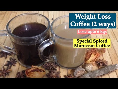 Weight Loss Coffee | How to make Homemade Spiced Moroccan Coffee to Lose Weight/ Burn Fat