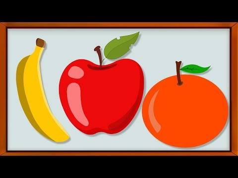 Learn Fruits | Learn Colors | Educational Video for Kids & Toddlers