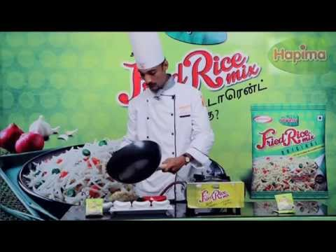 Fried rice mix- Cooking Demo