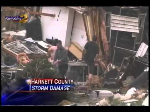 Damage Extends Across North Carolina