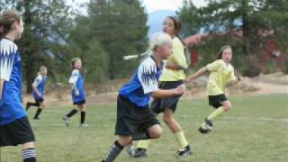 Blue Flames - Girls U12 Ayso Soccer Champions In Truckee