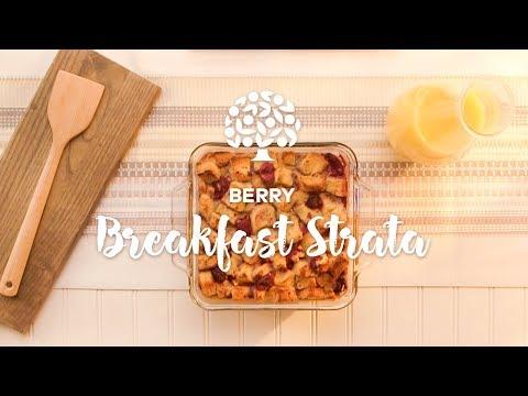 Berry Breakfast Strata