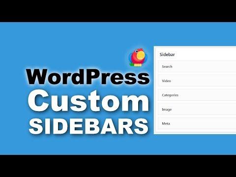 Custom WordPress Sidebar: How To Create One And Why You Need It