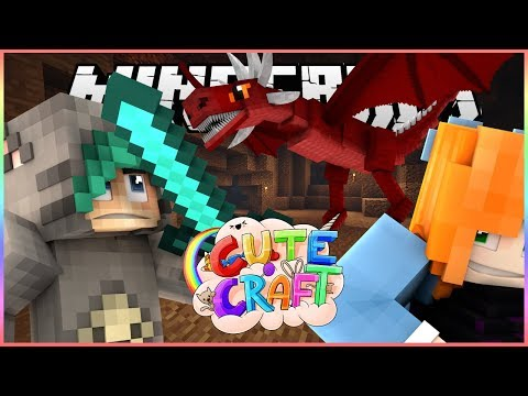 ANOTHER PERSON WITH A DRAGON! - CuteCraft Minecraft SMP - Ep.30 - W/Marielitai