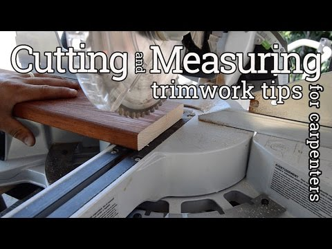 Deck Board Cutting & Measuring Tips