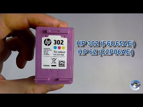 How to Refill HP 302, HP 304 & HP 62 Tri-Colour Ink Cartridges