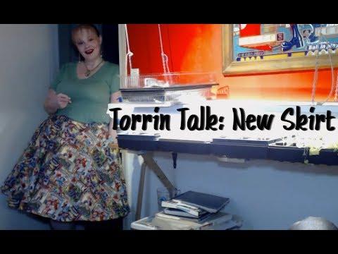 Torrin Talk: New Skirt