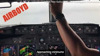 Air Niugini Flight 73 Crash • Jump Seat Video