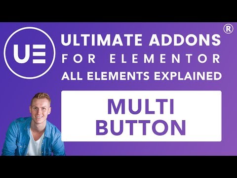 Ultimate Addons Elementor | Multi Button Tutorial