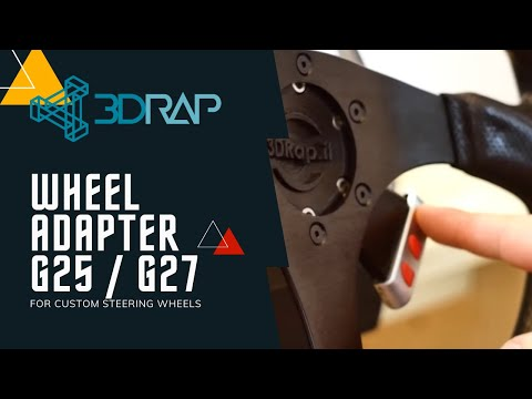 Logitech G27 Steering Wheel Adapter Plate Adapter Steering Wheel