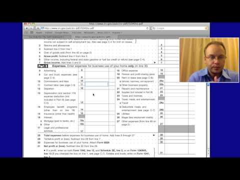 IRS Self Employed Tax Deductions & Write Offs 2012, 2013