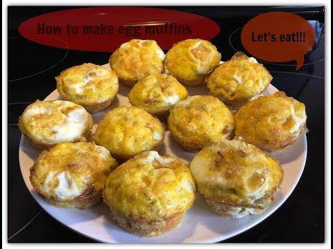 Make ahead breakfast: how to make egg muffins - vlog # 8