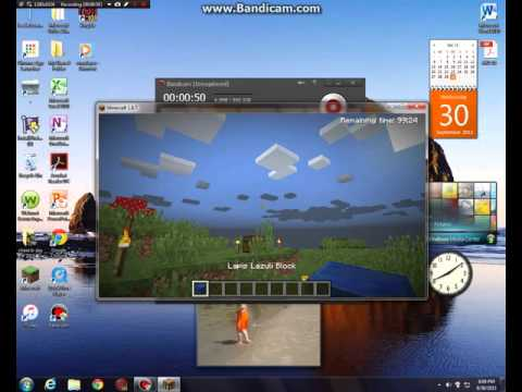 How to get unlimited demo time in Minecraft Demo