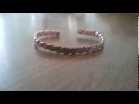 Cleaning a Copper Bracelet With Ketchup