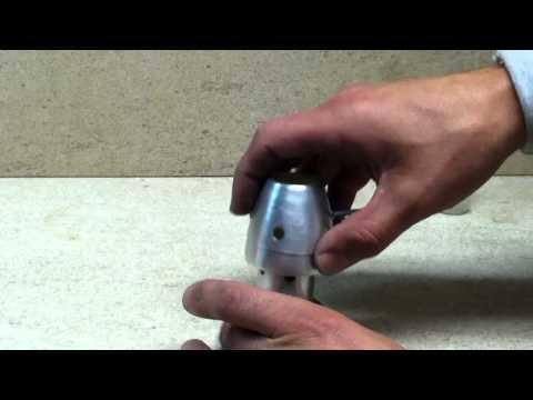 DIY Adjustable Alcohol Stove
