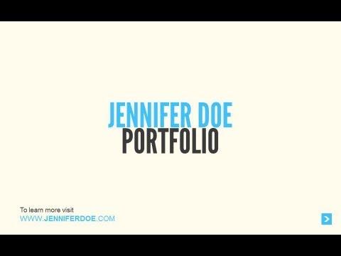 PowerPoint - Business Portfolio Sample