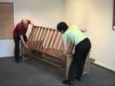 How to disassemble a Futon Frame.