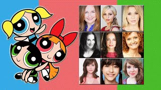 "Characters Voice Comparison - ""The Powerpuff Girls"""