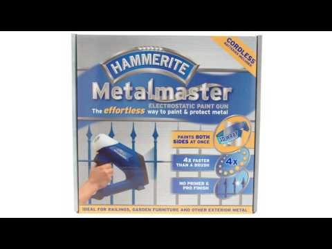 hammerite metalmaster electrostatic paint gun