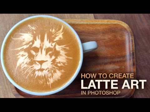 How to Create Latte Art in Photoshop