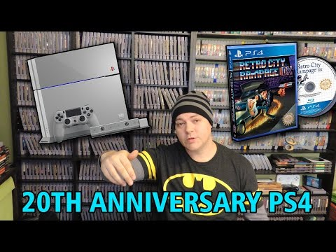 PS4 LIMITED EDITION STUFF. 20th Anniversary Edition reselling for $2000. Retro City Rampage DX