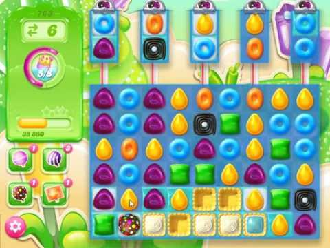 Candy Crush Jelly Saga Level 763 - NO BOOSTERS