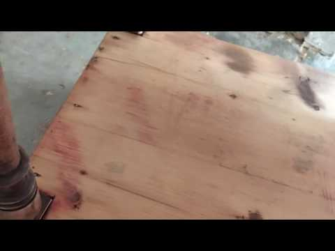 Refinishing an Antique Basin Table
