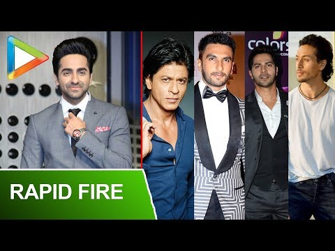 "Ayushmann Khurrana: ""SRK Is An Ideal SPERM, Tiger Shroff Is… "" 