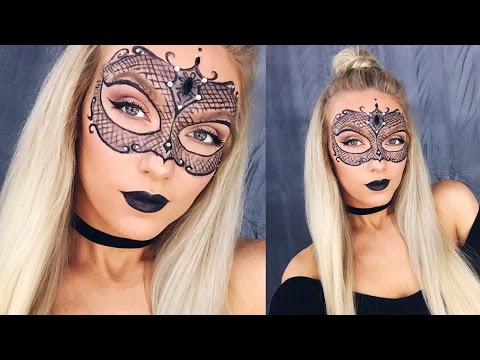 MASQUERADE MASK MAKEUP! | HALLOWEEN TUTORIAL