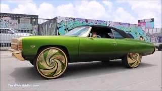 Whipaddict 71 Chevrolet Impala Convertible On Forgiato Turbinata