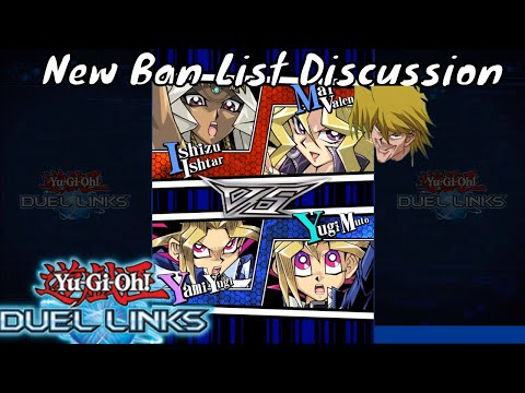 Yugioh Duel Links Season 2 Ep. 7 - New Ban List Discussion