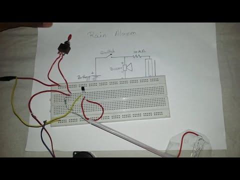 How to make Rain Water Detector ( in Hindi )