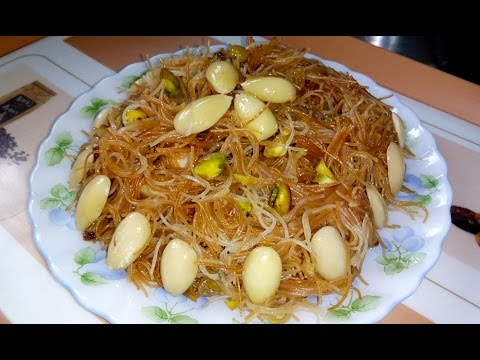 Sweet Vermicelli Recipe | Misti Seviyan | Indian Sweet Dish Recipe