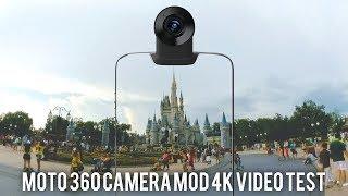 Moto Z2 Force 360 Camera Mod 4K Test!