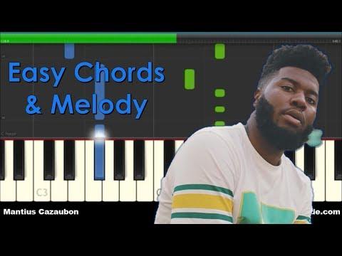 Khalid Young Dumb & Broke Easy Piano Chords Tutorial
