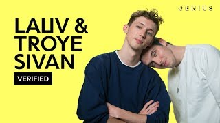 Lauv  Troye Sivan Im So Tired Official Lyrics  Meaning  Verified