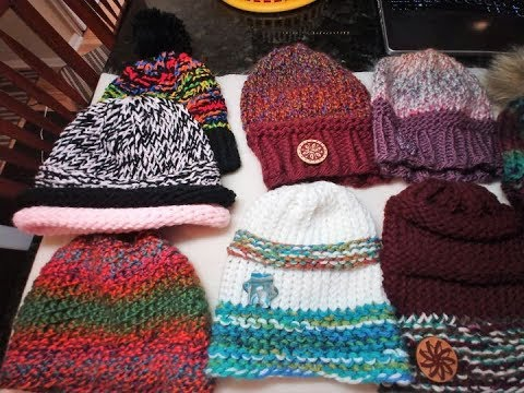 Design Your Own Loom Hat Using Only Knit & Purl Stitches!