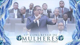 NADA ESTÁ PERDIDO   JAIR SANTOS   17º CONGRESSO DE MULHERES DA IEADPE