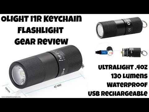 OLIGHT i1R 130 Lumen Keychain Flashlight Review