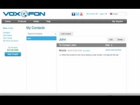 Voxofon - International calls from any mobile or landline