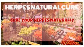 Natural cure for herpes