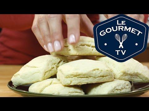 Homemade Butter Biscuits Recipe - LeGourmetTV