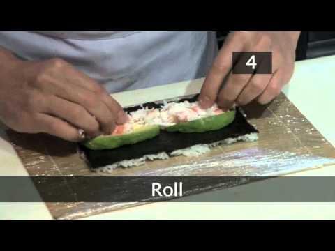 How To Make A California Roll Uramaki