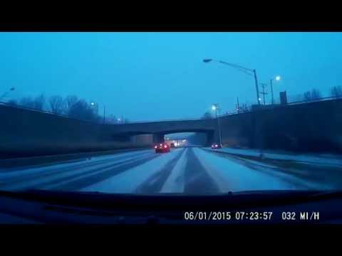 First Snow 2015 - Commute to Baltimore