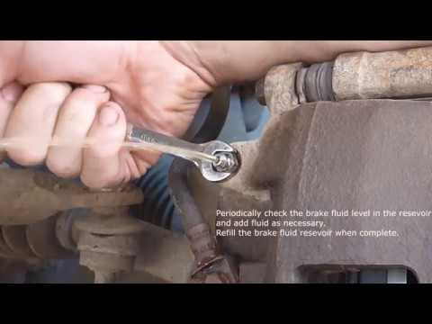 Garage Tip - How to Bleed Brakes