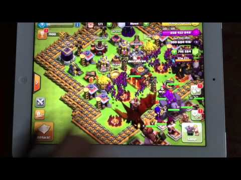 How to get infinite loot on clash of clans/no jailbreak