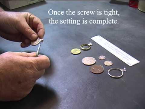 Setting a Coin Bezel