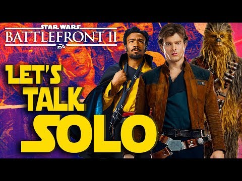 HvV with Han and New Solo a Star Wars Story Trailer?! Star Wars Battlefront II Live Stream