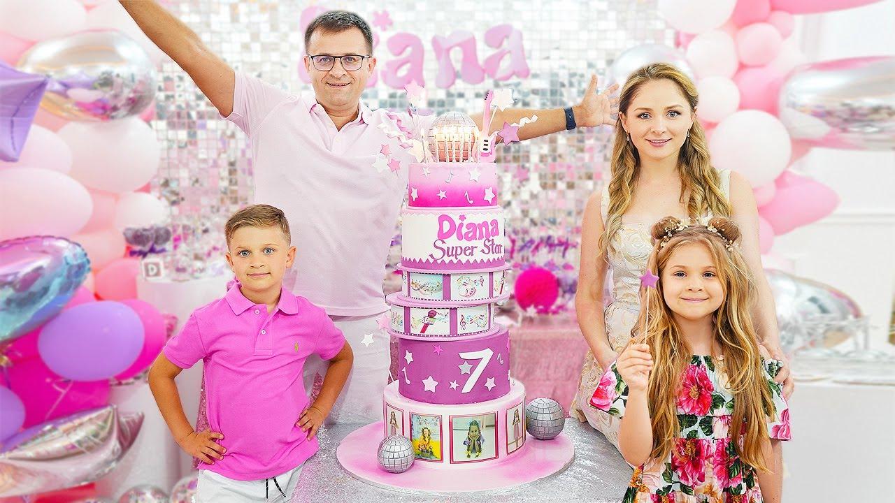 Diana's 7th Birthday Party! Happy Birthday Diana!