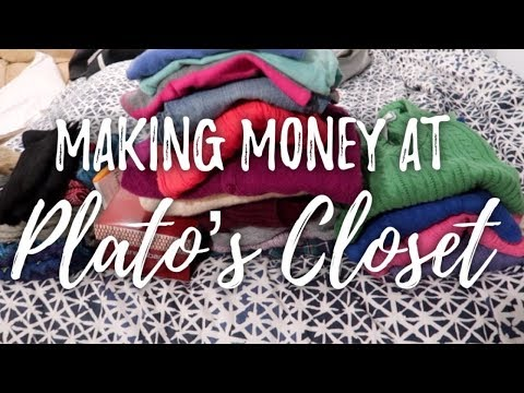 Selling Clothes at Plato's Closet | how much money I made & what sold